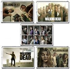 The Walking Dead Large Fridge Magnet, Pic Size 45mm X 70mm
