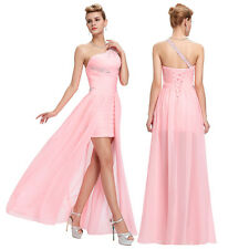 HOT Bridesmaid Homecoming Evening Formal Prom Cocktail Dresses Party Gowns Pink