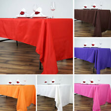 20 pcs Wholesale Lot 60x126 RECTANGLE POLYESTER TABLECLOTHS Wedding Party Linens