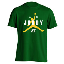 AIR JORDY NELSON green bay football packers cheese head kid YOUTH FOREST T-SHIRT