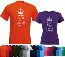 Keep Calm and Crush Candy  - Funny Rude Carry on - Secret Santa Christmas Gift
