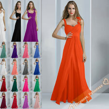 2014 Thanksgiving Chiffon Formal Evening Prom Gown Bridesmaids Dresses size 6-26