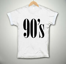 90's STYLE T-SHIRT BAGGY NINETIES HIPSTER SWAG TOP DOPE UNISEX MEN WOMEN FASHION