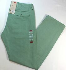 New Men Levi's Light Green Chino Jeans Relaxed Fit Pants #80005 Trousers -$58.00