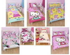 Girls Kids Childrens Character Single and Double Duvet Cover Bedding Bed Sets