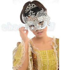 High quality Leather Peacock feather Mask Christmas Carnival Fantastic Masquerad
