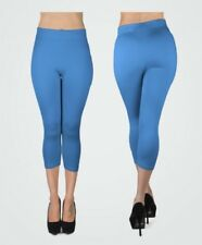 New Women's Solid Capri Leggings (L0500)
