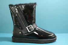 Women's UGG Boots Blaise Patent Leather Black 1003266 ORIGINAL 100% AUTHENTIC