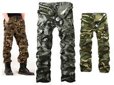 Match Mens Cargo pants loose fit stylish Casual pockets Trousers 3 Colors