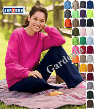 JERZEES 562MR NuBlend Crewneck Sweatshirt S-4XL Colors men's women's New