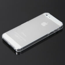 Ultra Thin Transparent Crystal Clear Hard TPU Case Cover for iPhone 5 & 5S