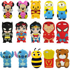 Child Gift 3D Cute Disney Cartoon Soft Cover Case For ipod touch 4 4TH 5 5TH gen