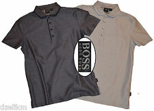 NWT Hugo Boss Black Label by Hugo Boss 2 Tone Jacquard Breast Pocket Polo Shirt