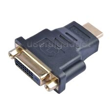 DVI DVI-D (24+1 pin) Female to HDMI Standard Male Adapter HDTV lot wholesale