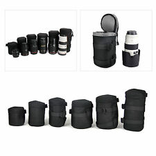 DSLR SLR Camera Lens Protector Padded Carry Pouch Bag Insert Bag Cover
