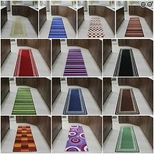 Runner Rugs Machine Washable Non Slip Hall Long Easy Clean Hallway Mat Cheap New