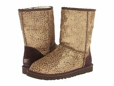 Women's Shoes UGG Australia Classic Short Metallic Leopard Calf Hair *New*