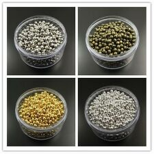 2MM 3MM 4MM New Fashion Iron Round Beads Charm Jewelry Finding Hot Sale