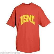 RED MARINES MORE YOU SWEAT IMPRINTED 1 SIDED T-SHIRT - Short Sleeve Tee
