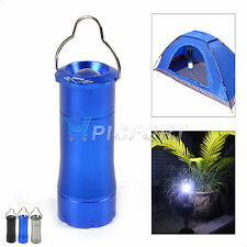 Outdoor Camping LED Tent Lantern Light Portable Flashlight Hiking Torch 3 Colors