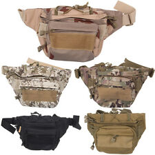 Fanny Pack Waist Bag Molle Military Tactical Assault Outdoor Hiking Camping Case