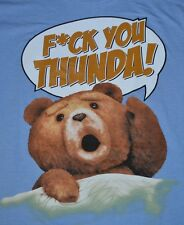 """TED """"FCK YOU THUNDA!"""" Adult T-Shirt  Officially Licensed Merchandise"""