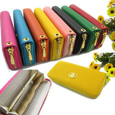 Lady's PU Leather Wallet Clutch Long Handbag Phone Case for Iphone Galaxy Note3