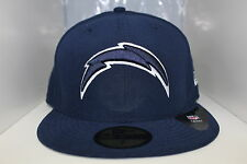 San Diego Chargers New Era 59Fifty Team Color Hat Navy Logo White Outline Cap