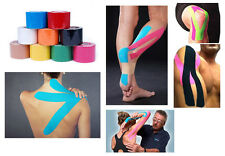 1 Roll 5mx 5cm Kinesiology Sports Muscles Care Elastic Physio Therapeutic Tape