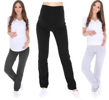 Maternity casual comfortable Yoga Gym Trousers Pants Over Bump 8 10 12 14 16