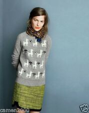 NWT J.crew Jeweled Llama Sweater, Size: M and L, Sold out