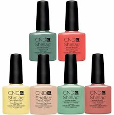 CND ✿ SHELLAC UV Gel Power Polish ✿ OPEN ROAD Collection 2014