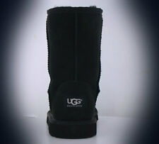 UGG AUSTRALIA WOMENS CLASSIC SHORT BOOTS BLACK STYLE  5825