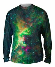 Yizzam- Space Galaxy Cepheus Star Clouds - New Mens Long Sleeve Tee Shirt XS S