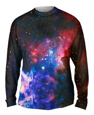 Yizzam- Carina Nebula Space Galaxy - New Mens Long Sleeve Tee Shirt XS S M L XL