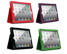 Leather Case Cover Pouch For ipad2 ipad3 ipad4 With Stand