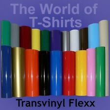 "Heat Transfer Vinyl for T-Shirts - 15"" x 5 Feet"