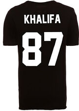 Tee Shirt Eleven Paris Homme **Back numbers** KHALIFA NUMERO 87 Life is a Joke