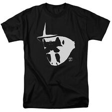 Watchmen Movie Mask and Symbol Rorschach Licensed Tee Shirt Adult S-3XL