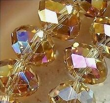 wholesale  Clear Crystal Gem Beads 4MM---8MM