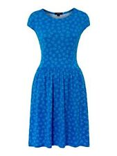 Brand New Therapy Womens Ladies Print Flare Crepe Tea Dress Size 8 t18 RRP £35