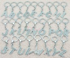 GOOD Crystal Letter A_Z Alphabet Initial Name Car Keychain Charm Key Chain Gift