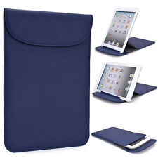 """Kroo B1b Flexi Stand Bicast Leather Slim Travel Sleeve Case for 7"""" Tablets"""