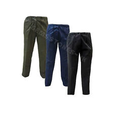 MENS CASUAL ELASTICATED WAIST RUGBY TROUSERS FOR WORKING/WALKING/GYM