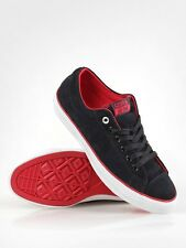 Converse CONS CTS OX Black Red Suede #121661 Skate Defective (111) Men's Shoes