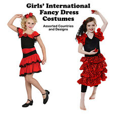 INTERNATION FANCY DRESS COSTUMES - Assorted Countries & Designs - Kids NEW
