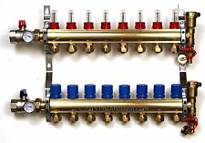 PEX Radiant Floor Heating BRASS Manifold Kit