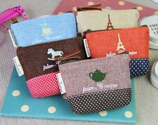 New Wholesale 5 Option Design Small Coin Wallet Clutch Bag Purse Key Packet