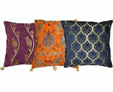 "Turkish Cushion Covers Pillow Cases with traditional motifs 17'x16"" 44cm x 42cm"