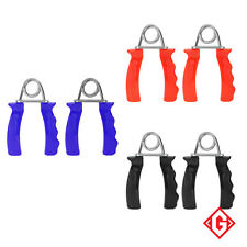 Heavy Duty Hand Grippers Grip Wrist Forearm Training Plastic Steel Exerciser Set